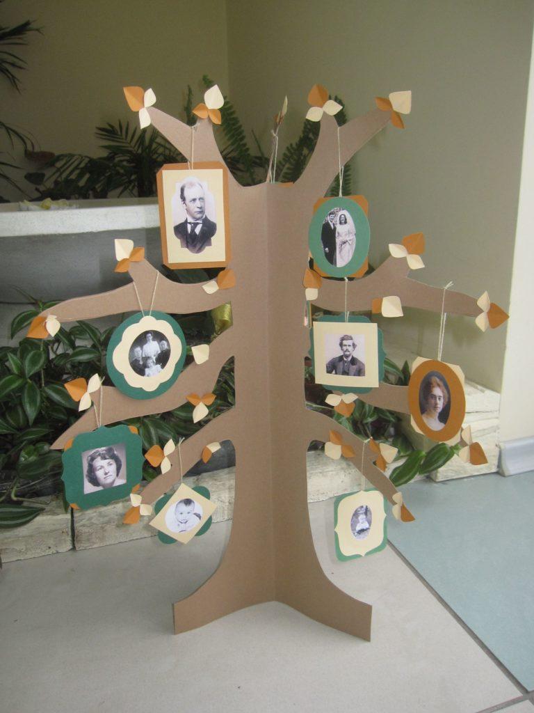árbol genealógico original