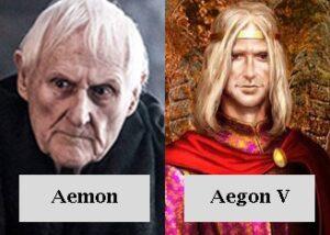 Aemon y Aegon V Targaryen