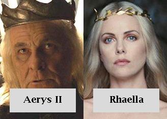 Aerys II y Rhaella Targaryen