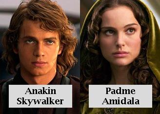 Anakin y Padme Star wars
