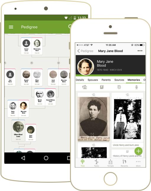 Familysearch app