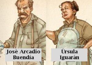 José Arcadio Buendía y Úrsula Iguarán