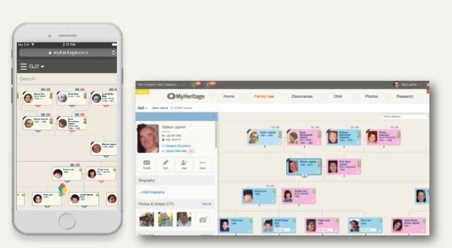 MyHeritage app