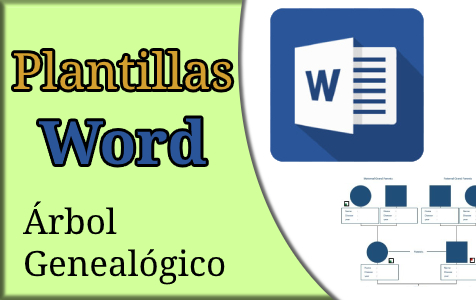 plantillas para word arbol genealogico