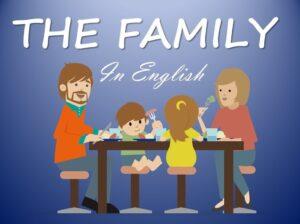 árbol genealógico en inglés para niños